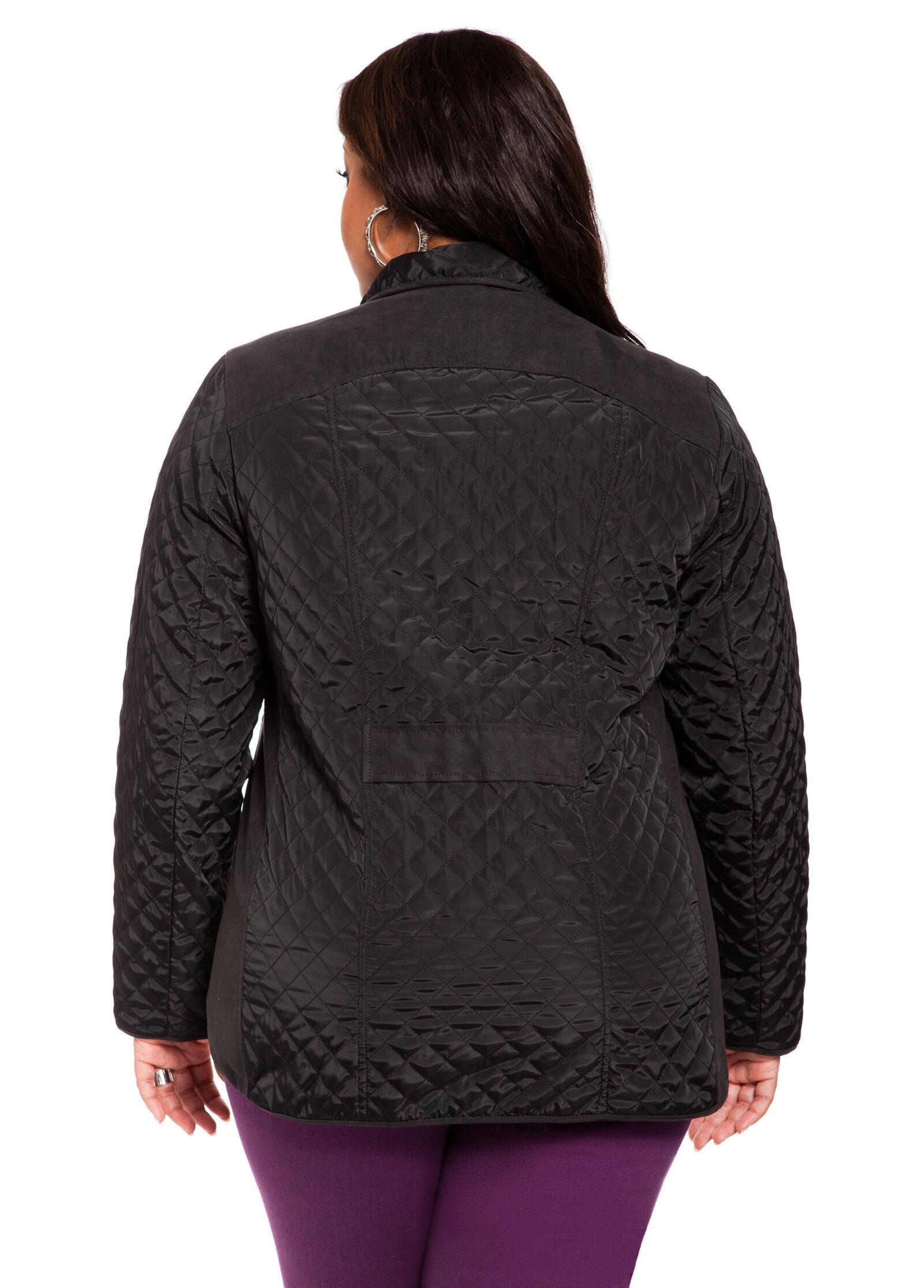 Zip Pocket Quilted Jacket