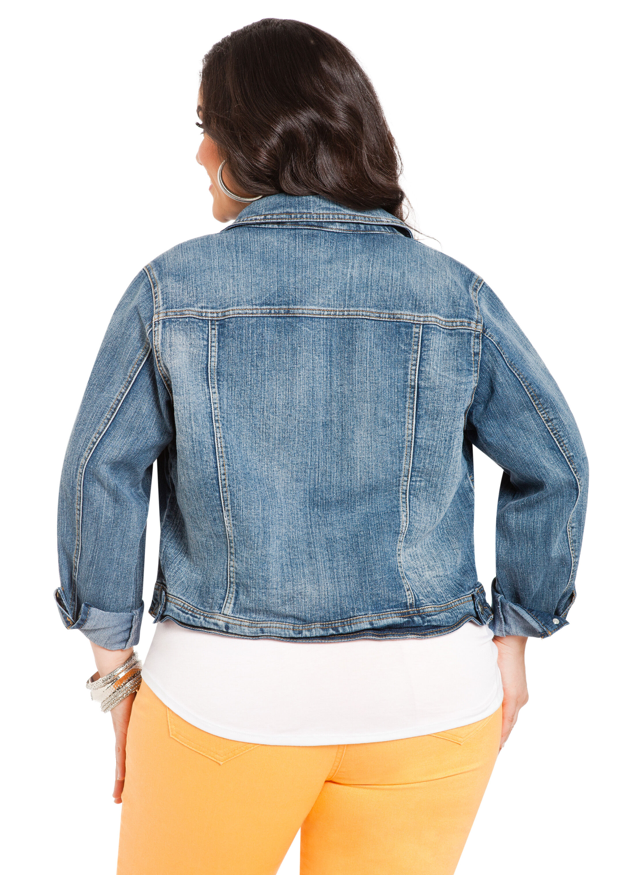 Classic Wash Denim Jacket