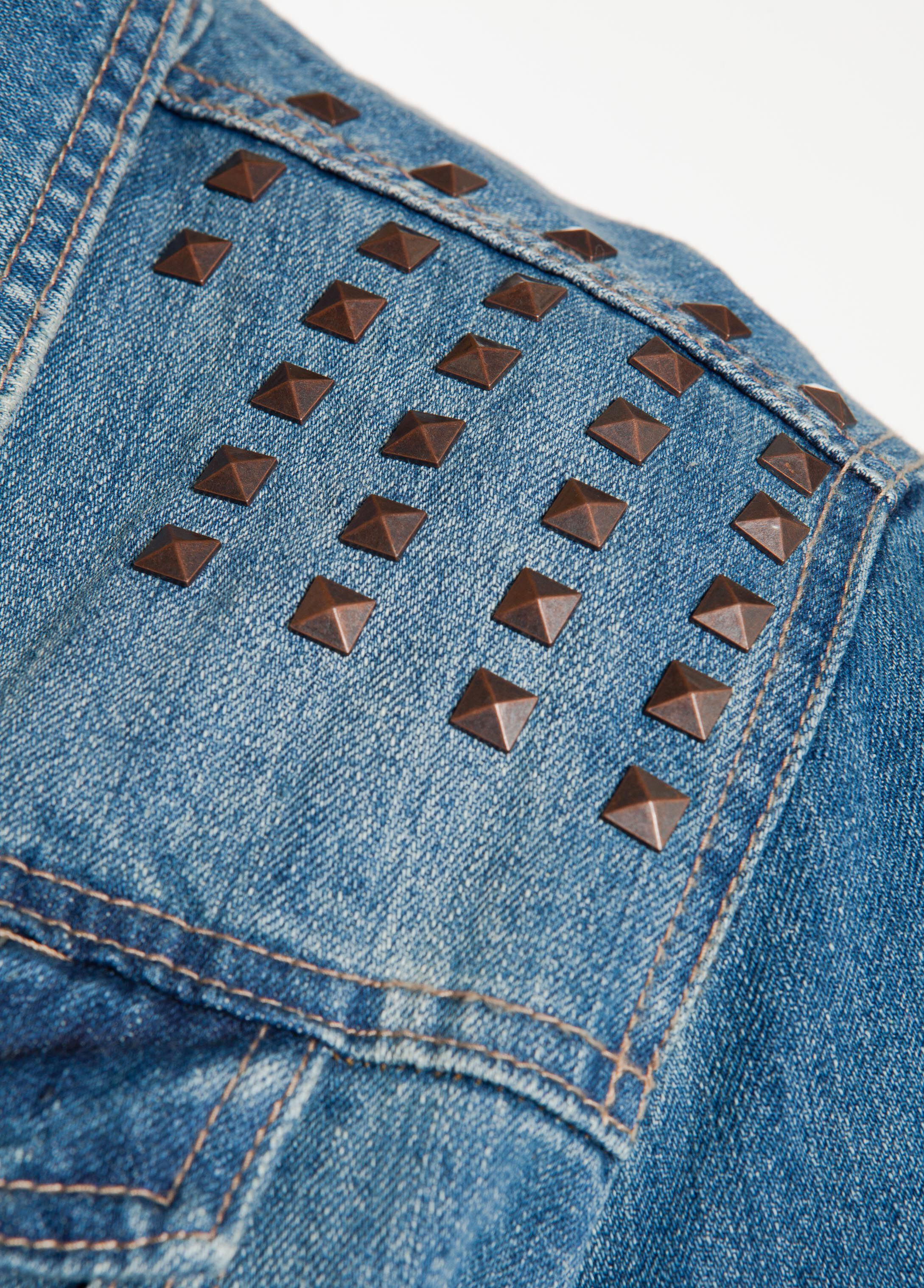 Studded Denim Jacket