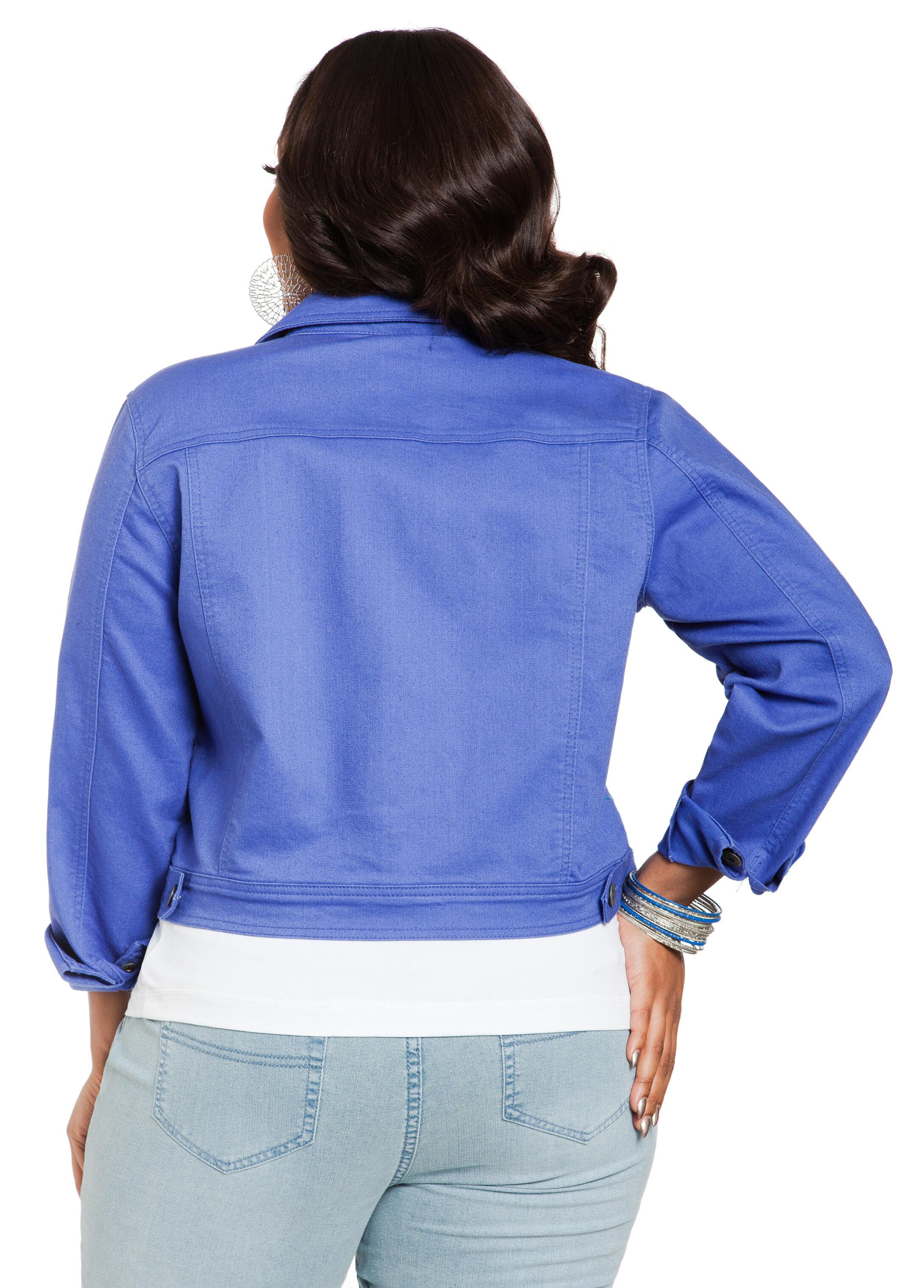 Batiki Blue Denim Jacket