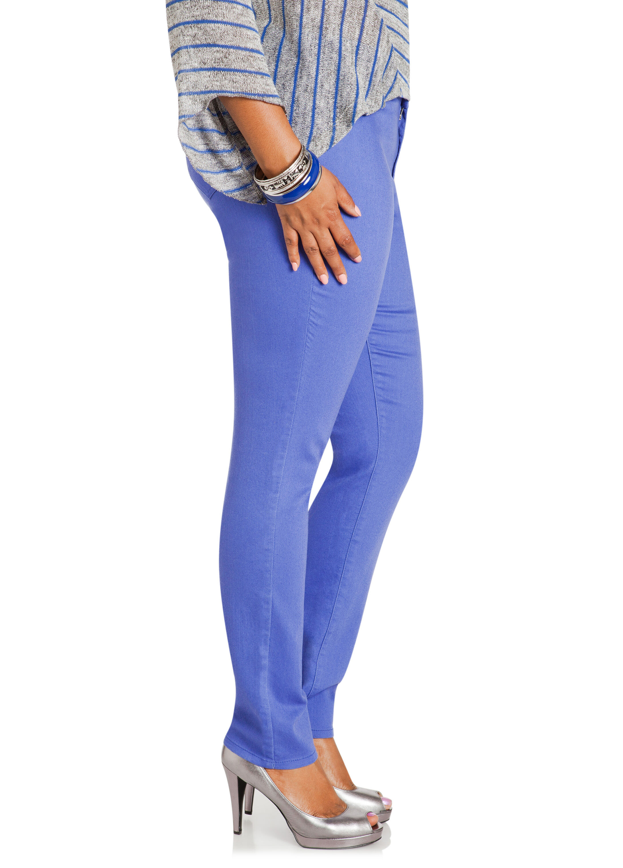Batiki Blue Jeggings