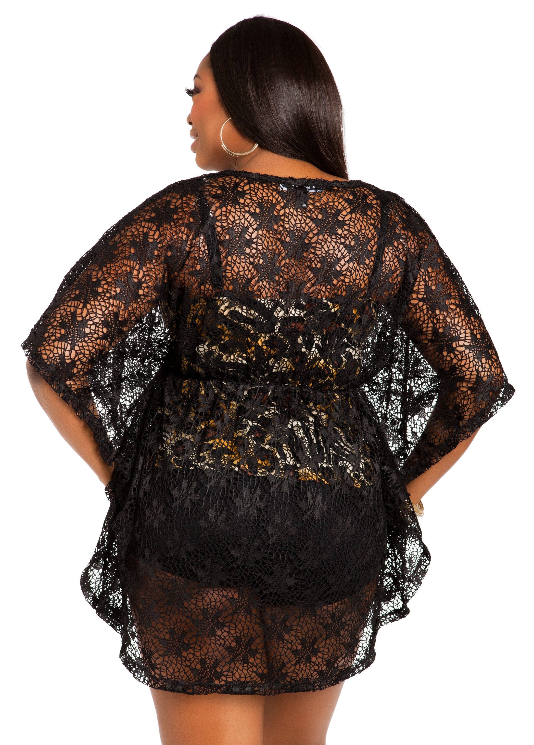 Lace Cover-Up Top
