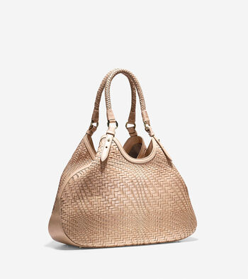 Genevieve Large Triangle Tote