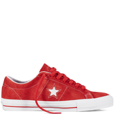 CONS One Star Pro Red/White/White