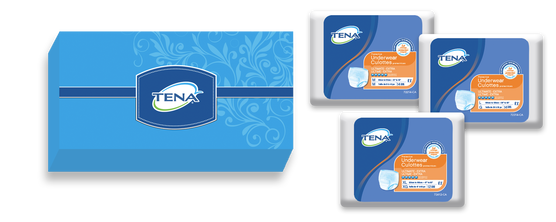 TENA® - Culottes protectrices - Absorption ultime - Trousse d