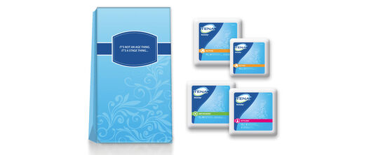 TENA® Lifestyle - Free Trial Kit for Women
