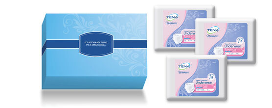 TENA® Underwear - Free Trial Kit for Women