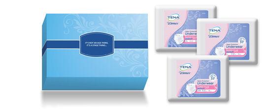 TENA® Underwear - Free Trial Kit for Women