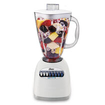 Oster® Simple Blend™ 100 Blender - White - Plastic Jar - NEW UPDATED LOOK!