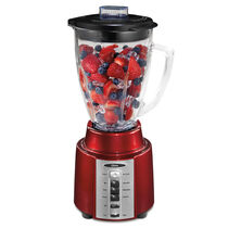 Oster® Accurate Blend™ 200 Blender - Metallic Red - Glass Jar