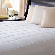Sunbeam® Premium Quilted Heated Mattress Pad, Queen