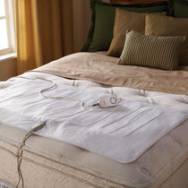 Sunbeam® Comfy Toes Heated Mattress Pad, Queen & King