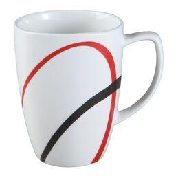 Square™ Fine Lines 12-oz Porcelain Mug