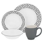 Impressions™ Urban Grid 16-pc Dinnerware Set
