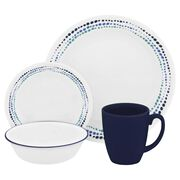 Livingware™ Ocean Blues 16-pc Dinnerware Set