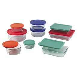 Simply Store® 18-pc Set w/ Multi-Colored Lids