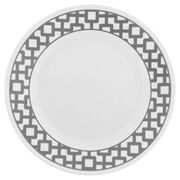 "Impressions™ Urban Grid 8.5"" Plate"