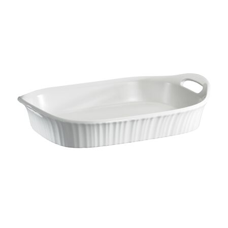 French White® 3-qt Oblong Casserole