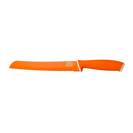 "Vivid™ 8"" Bread Knife, Orange"