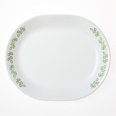 """Livingware™ Neo Leaf 12.25"""" Serving Platter"""