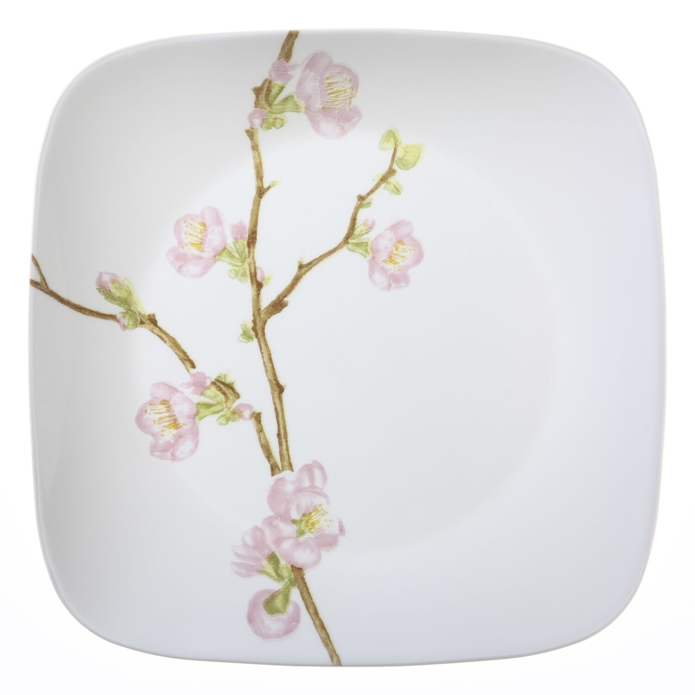 Square Cherry Blossom 16 Pc Dinnerware Set Corelle