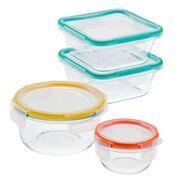 Total Solution™ Pyrex® Glass Food Storage 8-pc Set