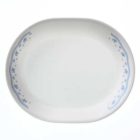 "Livingware™ Morning Blue 12.25"" Serving Platter"