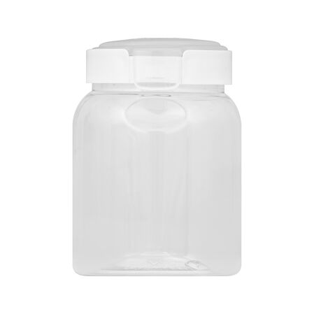Airtight Food Storage 4.3 Cup Round Plastic Canister w/ Translucent Lid