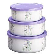 Coordinates® Shadow Iris 6-pc Bowl Set