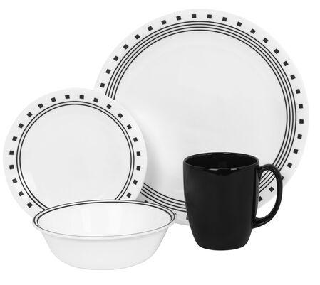 Livingware™ City Block 16-pc Dinnerware Set