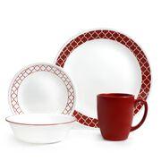 Livingware™ Crimson Trellis 16-pc Set