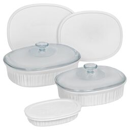 French White® 8-pc Oval Set