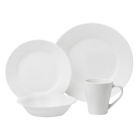 Vive™ Dazzling White 16-pc Dinnerware Set