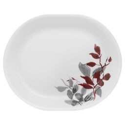 "Boutique™ Kyoto Leaves 12.25"" Oval Serving Platter"