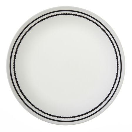 "Livingware™ Brilliant Black Beads 8.5"" Plate"