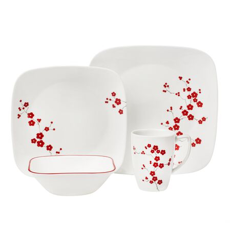 Square™ Hanami Garden 16-pc Dinnerware Set