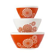 Tickled Pink 3-pc Mixing Bowl Set, inspired by Pyrex®
