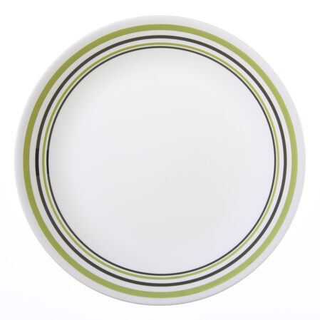 "Livingware™ Garden Sketch Bands 10.25"" Plate"