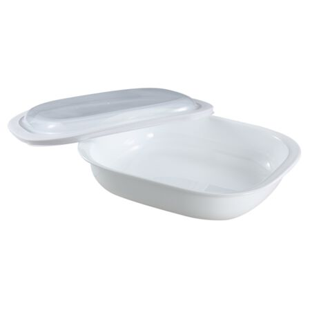 Bake, Serve, Store™ 3-qt Rectangle Bakeware Dish w/ Plastic Cover