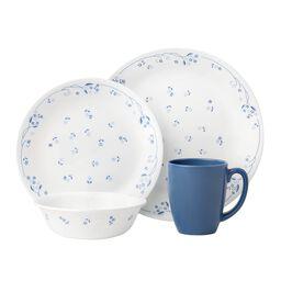 Livingware™ Provincial Blue 16-pc Dinnerware Set