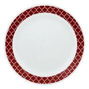 "Livingware™ Crimson Trellis 10.25"" Plate"