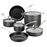 Hard Anodized 10-pc Cookware Set