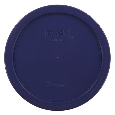Plastic Lid 6 & 7 Cup Round, Blue
