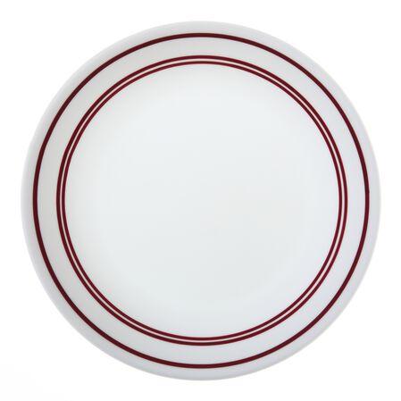 """Livingware™ Classic Café Red 8.5"""" Plate"""