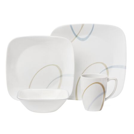 Square™ Sand and Sky 16-pc Dinnerware Set