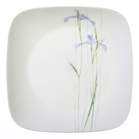"Square™ Shadow Iris 10.25"" Plate"