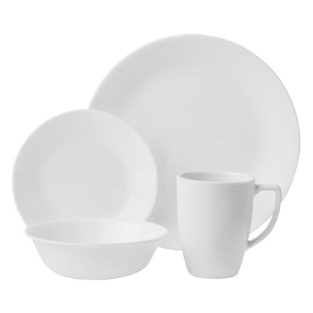 Livingware™ Winter Frost White 16-pc Dinnerware Set