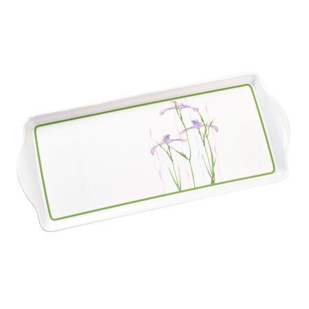 Coordinates® Shadow Iris Melamine Tidbit Tray