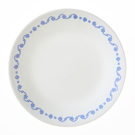 "Livingware™ Cross Stitch 6.75"" Plate"