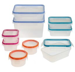 Total Solution™ Plastic Food Storage 18-pc Set
